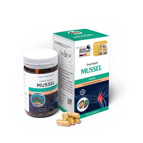 Green Lipped Mussel - Hỗ trợ giảm đau khớp, tái tạo sụn khớp, bạo vệ xương khớp
